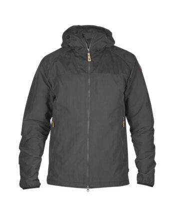 Fjällräven Abisko Hybrid Jacket DARK GREY kjøper du på SQOOP outdoor