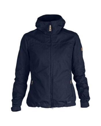 Fjällräven Stina Jacket DARK NAVY kjøper du på SQOOP outdoor