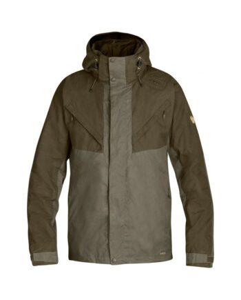 Fjällräven Drev Jacket DARK OLIVE kjøper du på SQOOP outdoor