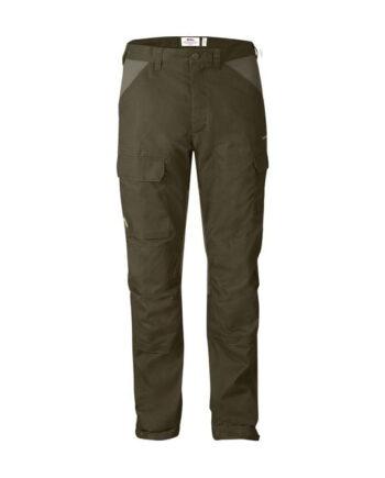 Fjällräven Drev Trousers DARK OLIVE kjøper du på SQOOP outdoor