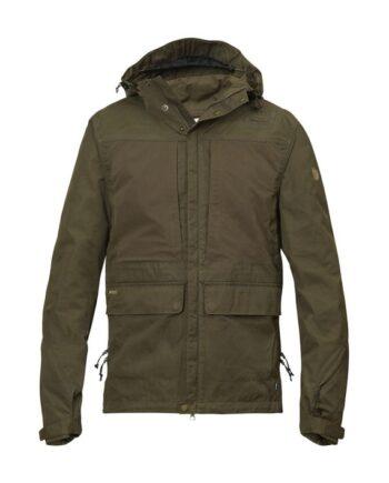 Fjällräven Lappland Hybrid Jacket DARK OLIVE kjøper du på SQOOP outdoor