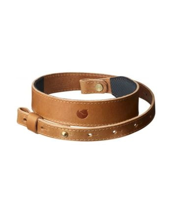 Fjällräven Rifle Leather Strap LEATHER COGNAC kjøper du på SQOOP outdoor