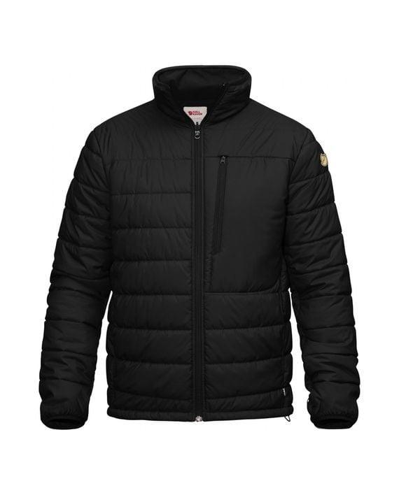 Fjällräven Värmland Padded Jacket BLACK kjøper du på SQOOP outdoor