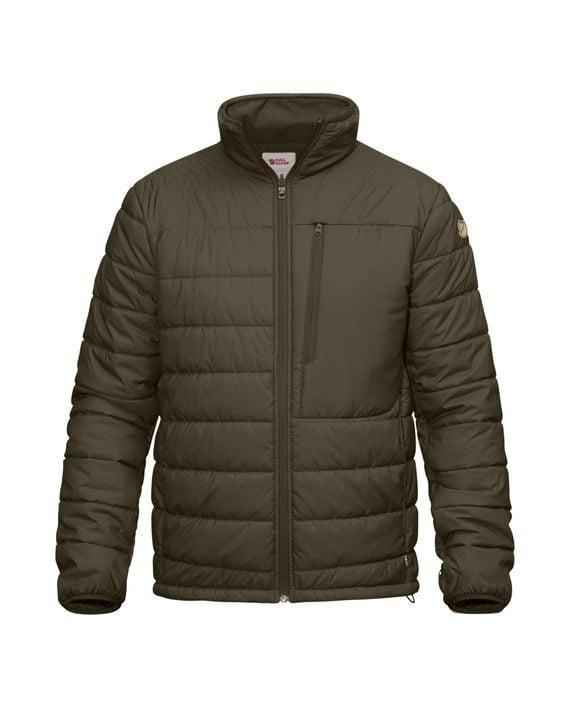 Fjällräven Värmland Padded Jacket DARK OLIVE kjøper du på SQOOP outdoor