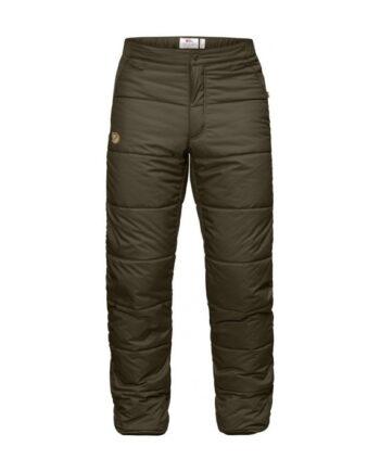 Fjällräven Värmland Padded Trousers DARK OLIVE kjøper du på SQOOP outdoor