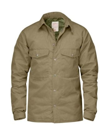 Fjällräven Down Shirt Jacket No.1 SAND kjøper du på SQOOP outdoor (SQOOP.no)