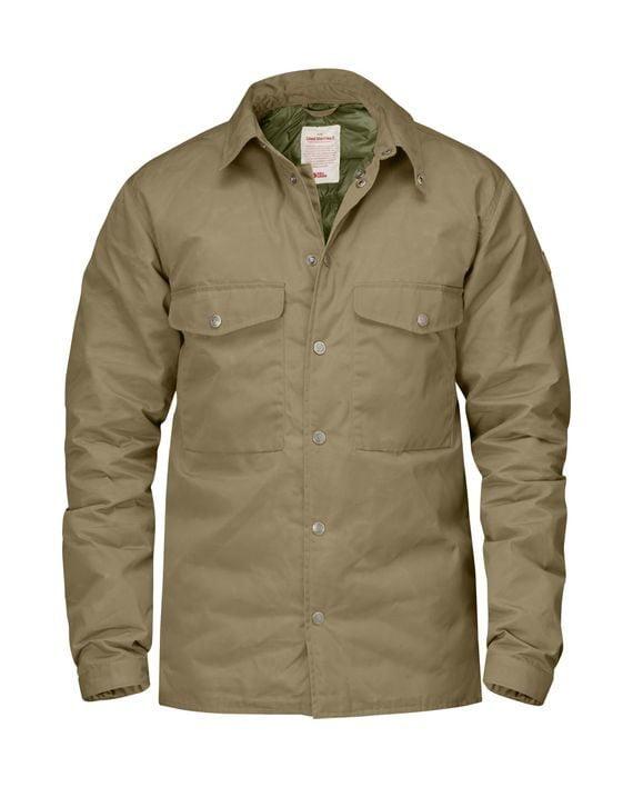 Fjällräven Down Shirt Jacket No.1 SAND kjøper du på SQOOP outdoor (SQOOP.no)