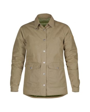 Fjällräven Down Shirt Jacket No.1 W SAND kjøper du på SQOOP outdoor (SQOOP.no)