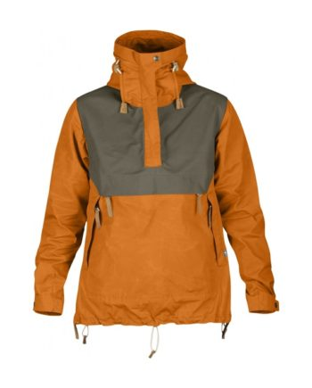 Fjällräven Anorak No.8 W BURNT ORANGE kjøper du på SQOOP outdoor (SQOOP.no)
