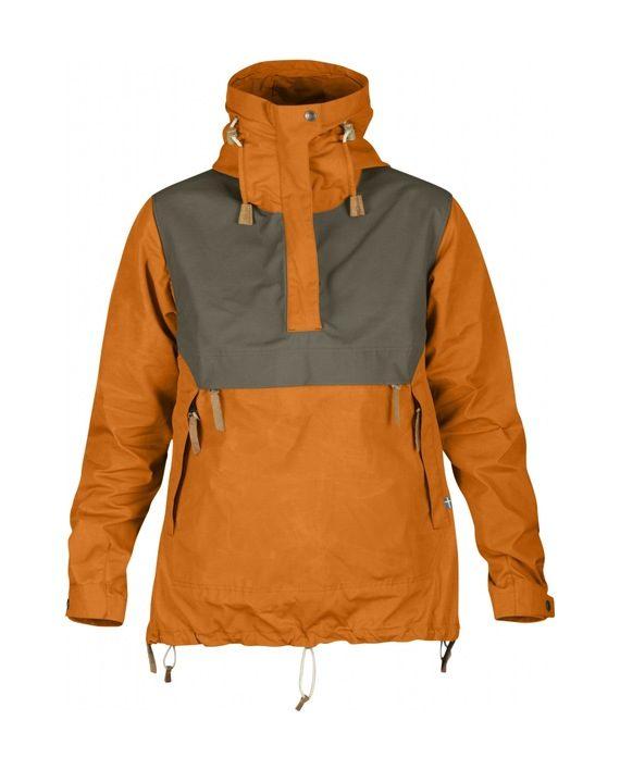 Fjällräven Anorak No.8 W BURNT ORANGE kjøper du på SQOOP outdoor (SQOOP.no)