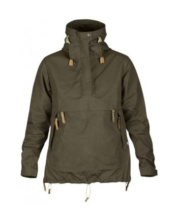 Fjällräven Anorak No.8 W DARK OLIVE kjøper du på SQOOP outdoor (SQOOP.no)
