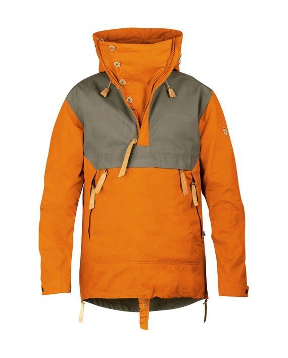 Fjällräven Anorak No. 8 BURNT ORANGE kjøper du på SQOOP outdoor (SQOOP.no)