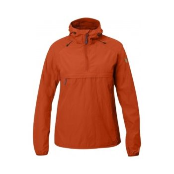 Fjällräven High Coast Wind Anorak W FLAME ORANGE kjøper du på SQOOP outdoor (SQOOP.no)
