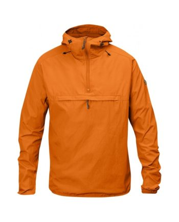 Fjällräven High Coast Wind Anorak SEASHELL ORANGE kjøper du på SQOOP outdoor (SQOOP.no)
