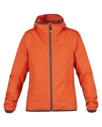 Fjällräven Bergtagen Lite Insulation Jacket W HOKKAIDO ORANGE kjøper du på SQOOP outdoor (SQOOP.no)