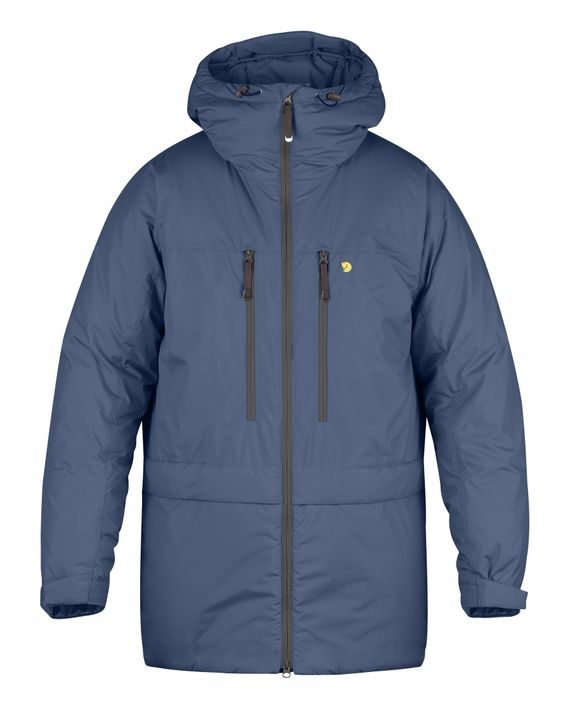 Fjällräven Bergtagen Insulation Parka MOUNTAIN BLUE kjøper du på SQOOP outdoor (SQOOP.no)