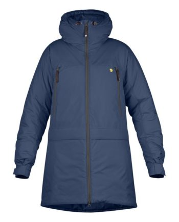 Fjällräven Bergtagen Insulation Parka W MOUNTAIN BLUE kjøper du på SQOOP outdoor (SQOOP.no)