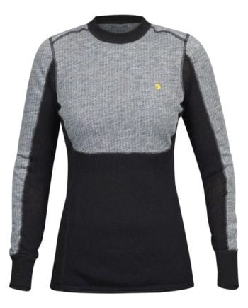 Fjällräven Bergtagen Woolmesh Sweater W GREY kjøper du på SQOOP outdoor (SQOOP.no)