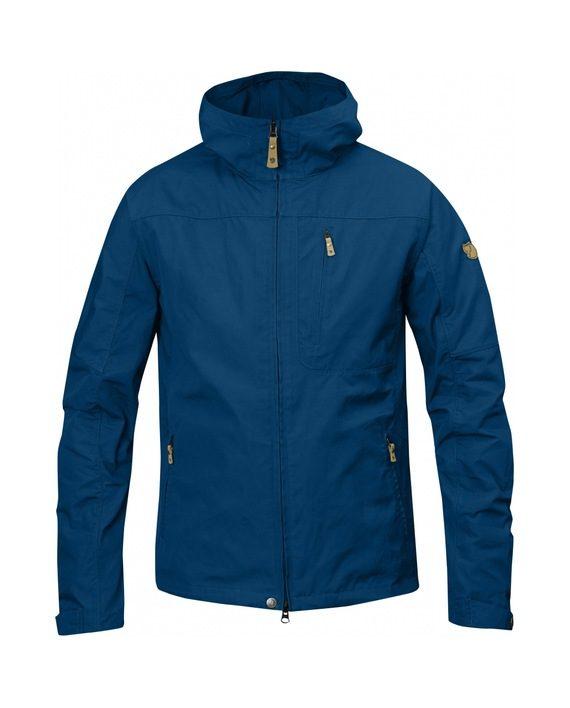 Fjällräven Sten Jacket LAKE BLUE kjøper du på SQOOP outdoor (SQOOP.no)