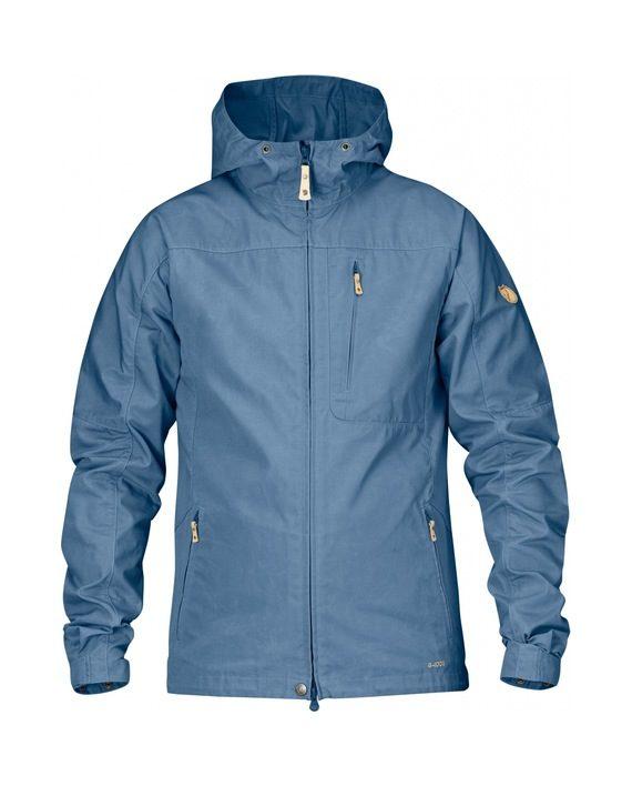 Fjällräven Sten Jacket BLUE RIDGE kjøper du på SQOOP outdoor (SQOOP.no)