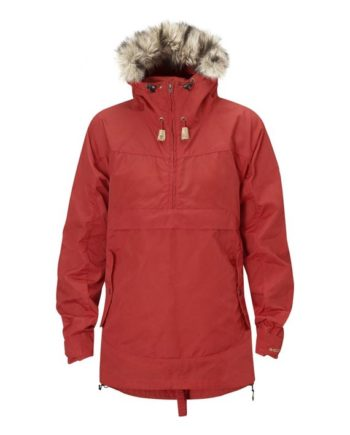 Fjällräven Iceland Anorak W. RED kjøper du på SQOOP outdoor (SQOOP.no)