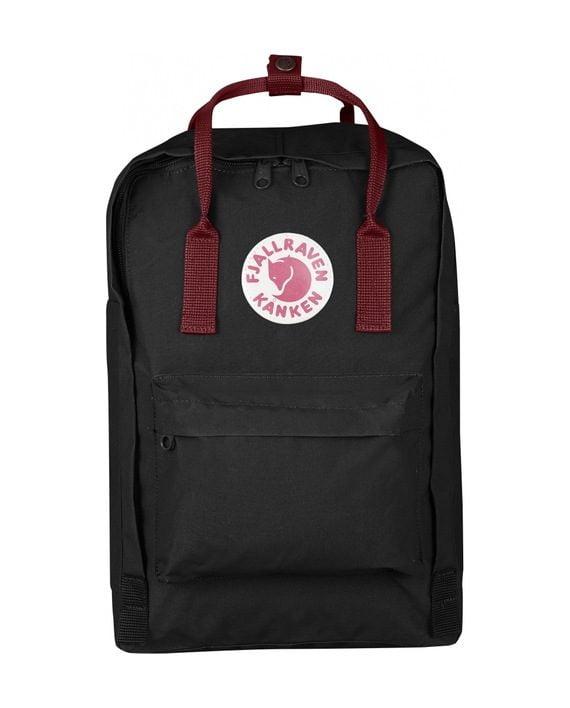 """Fjällräven Kånken 15"""" Laptop BLACK-OX RED kjøper du på SQOOP outdoor (SQOOP.no)"""