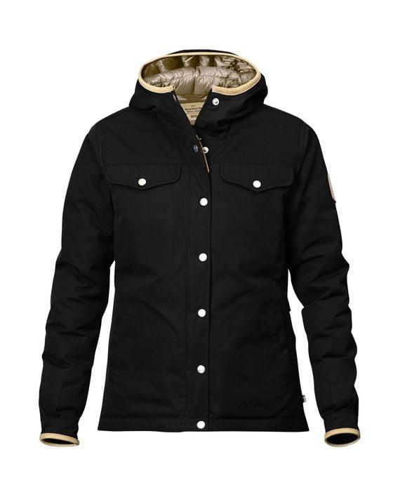 Fjällräven Greenland No.1 Down Jacket W BLACK kjøper du på SQOOP outdoor (SQOOP.no)