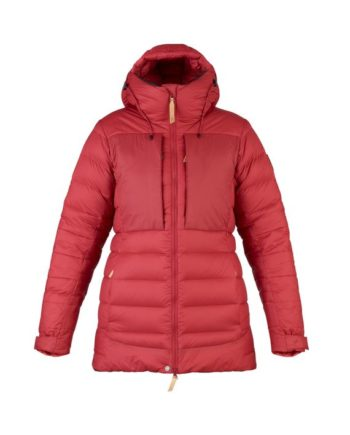 Fjällräven Keb Expedition Down Jacket W LAVA kjøper du på SQOOP outdoor (SQOOP.no)