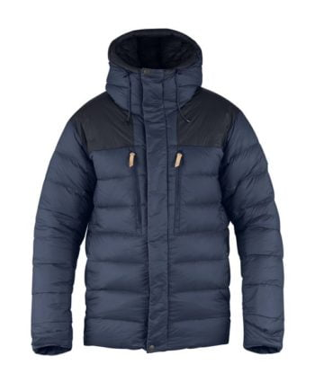 Fjällräven Keb Expedition Down Jacket STONE GREY-BLACK kjøper du på SQOOP outdoor (SQOOP.no)