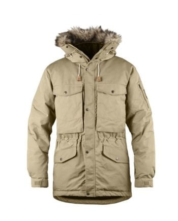 Fjällräven Singi Down Jacket SAND kjøper du på SQOOP outdoor (SQOOP.no)
