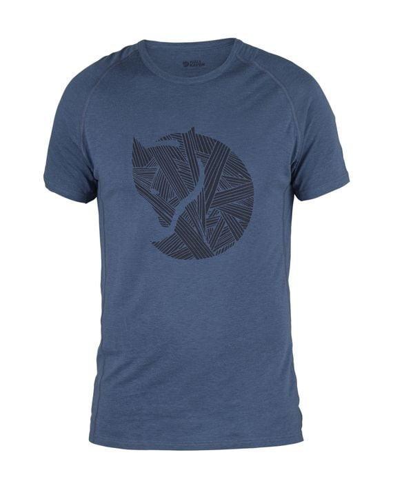 Fjällräven Abisko Trail T-Shirt Print UNCLE BLUE kjøper du på SQOOP outdoor (SQOOP.no)