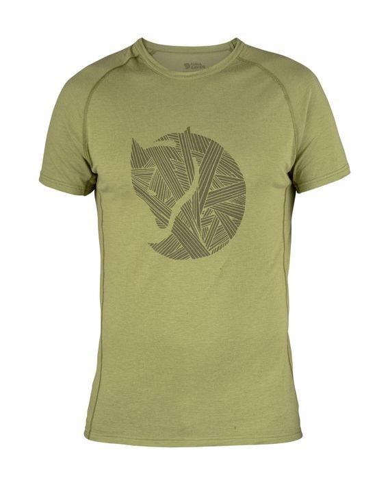 Fjällräven Abisko Trail T-Shirt Print WILLOW kjøper du på SQOOP outdoor (SQOOP.no)