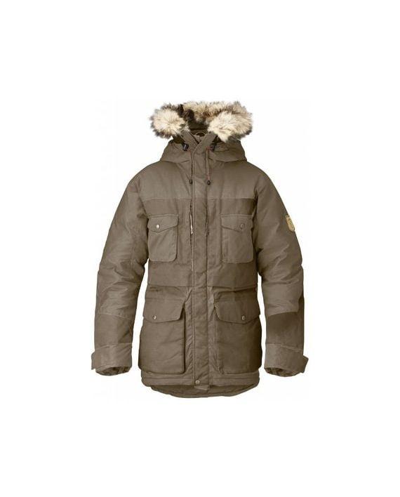 Fjällräven Arktis Parka TAUPE kjøper du på SQOOP outdoor (SQOOP.no)