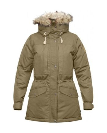 Fjällräven Singi Down Jacket W SAND kjøper du på SQOOP outdoor (SQOOP.no)