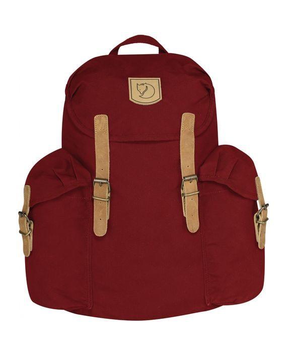 Fjällräven Övik Backpack 15L DEEP RED kjøper du på SQOOP outdoor (SQOOP.no)