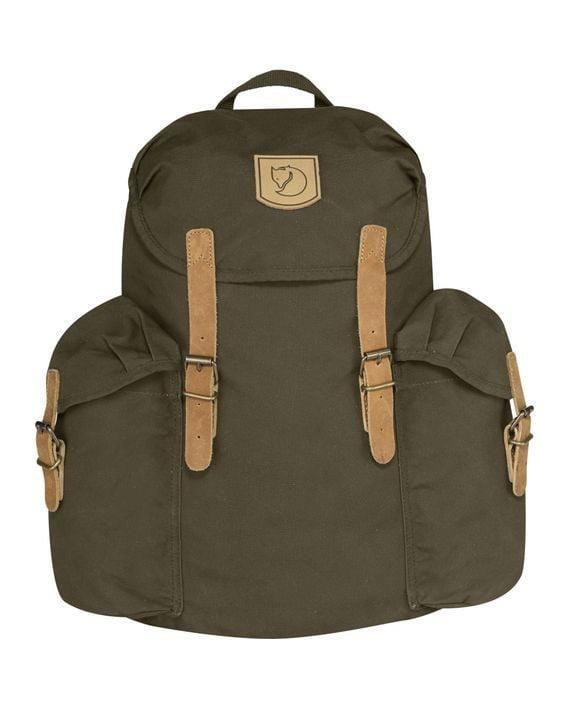 Fjällräven Övik Backpack 15L DARK OLIVE kjøper du på SQOOP outdoor (SQOOP.no)