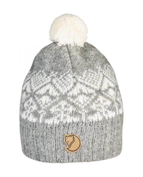 Fjällräven Kids Snowball Hat GREY kjøper du på SQOOP outdoor (SQOOP.no)