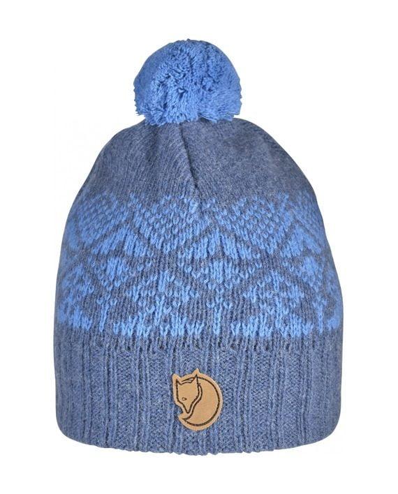 Fjällräven Kids Snowball Hat UNCLE BLUE kjøper du på SQOOP outdoor (SQOOP.no)