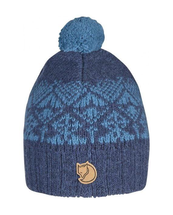 Fjällräven Kids Snowball Hat BLUEBERRY kjøper du på SQOOP outdoor (SQOOP.no)