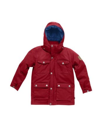 Fjällräven Kids Greenland Down Parka DEEP RED kjøper du på SQOOP outdoor (SQOOP.no)