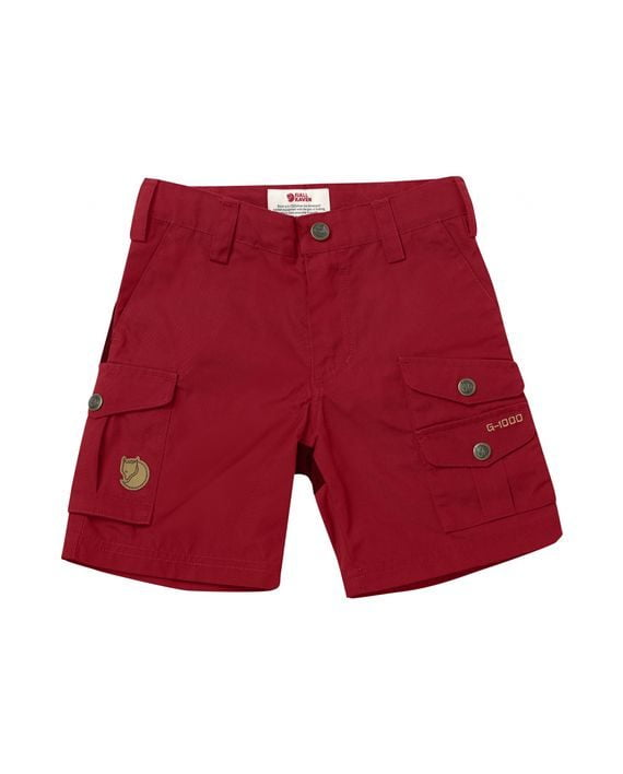 Fjällräven Kids Vidda Shorts DEEP RED kjøper du på SQOOP outdoor (SQOOP.no)