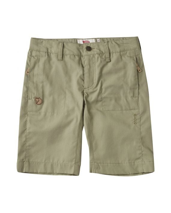 Fjällräven Kids Abisko Shade Shorts SAVANNA kjøper du på SQOOP outdoor (SQOOP.no)