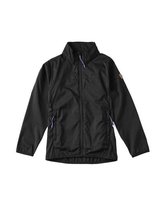Fjällräven Kids Abisko Windbreaker Jacket BLACK kjøper du på SQOOP outdoor (SQOOP.no)