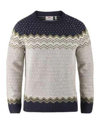 Fjällräven Övik Knit Sweater M NAVY kjøper du på SQOOP outdoor (SQOOP.no)