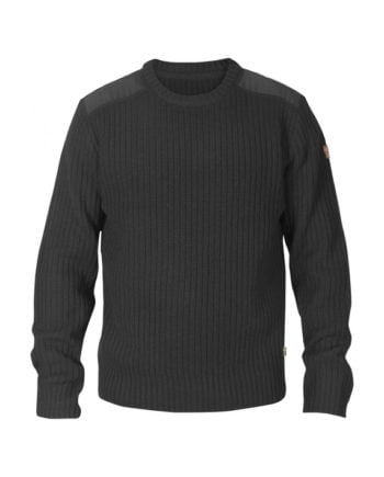 Fjällräven Singi Knit Sweater M DARK GREY kjøper du på SQOOP outdoor (SQOOP.no)