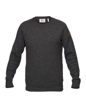 Fjällräven Övik Re Wool Sweater M DARK GREY kjøper du på SQOOP outdoor (SQOOP.no)