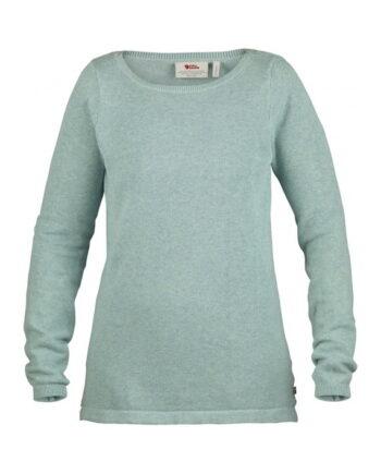 Fjällräven High Coast Knit Sweater W OCEAN MIST kjøper du på SQOOP outdoor (SQOOP.no)