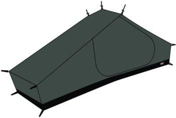 Fjällräven Mesh Inner Tent Lite 1 BLACK kjøper du på SQOOP outdoor (SQOOP.no)