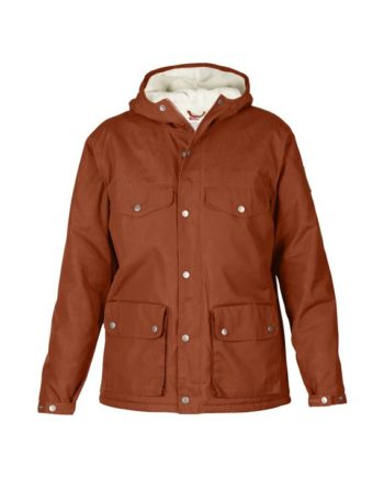 Fjällräven Greenland Winter Jacket W. AUTUMN LEAF kjøper du på SQOOP outdoor (SQOOP.no)