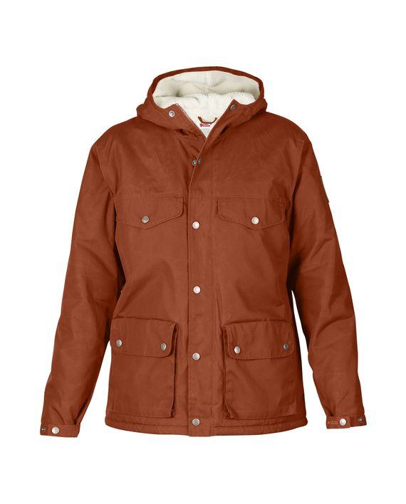 ad03d2c1 Fjällräven Greenland Winter Jacket W. AUTUMN LEAF kjøper du på SQOOP  outdoor (SQOOP.